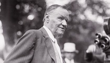Clarence Darrow during Scopes Trial