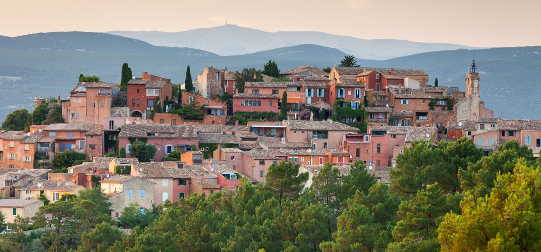Provencal village of Roussillon, Luberon