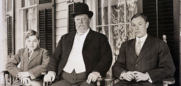 William Howard Taft and sons