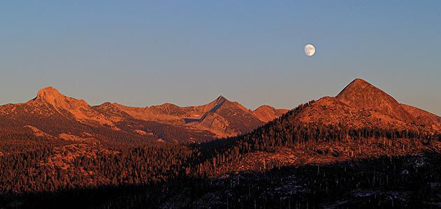 Ansel Adams Autumn Moon