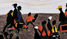 Jacob Lawrence Migration Series