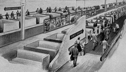 Moving Sidewalks Before The Jetsons