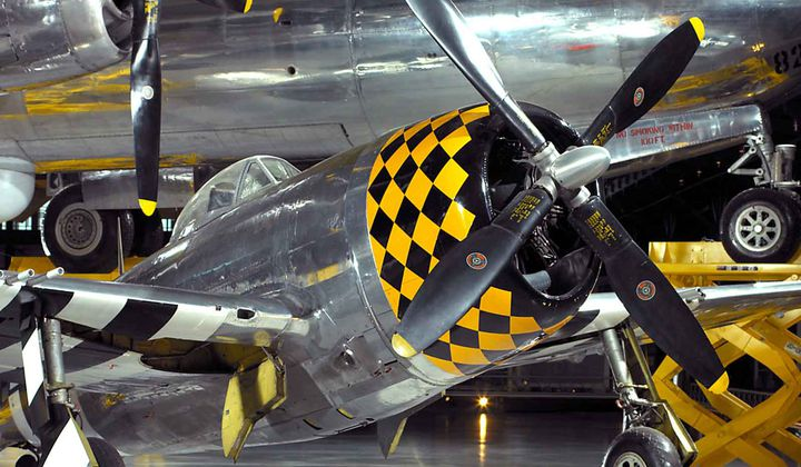 When P-47 Thunderbolt Ruled the Skies