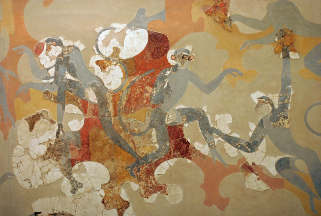 Painted Bronze Age Monkeys Hint at the Interconnectedness of the Ancient World