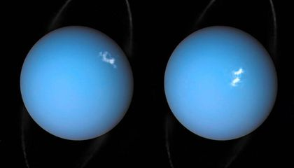 Take a Peek at the Auroras on Uranus