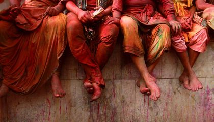 A Saturated Snapshot of This Year's Holi Celebrations