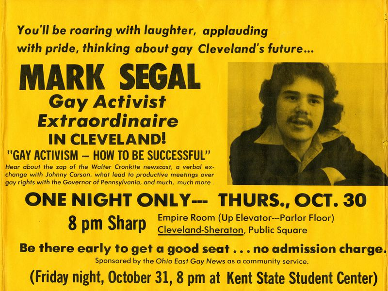 Mark Segal, Gay Activist Extraordinaire