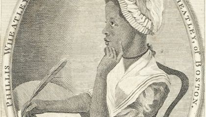 Poetry Matters: Phillis Wheatley, The Slave Girl Who Became a Literary Sensation