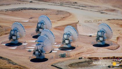 Behold: The World's Largest Radio Telescope