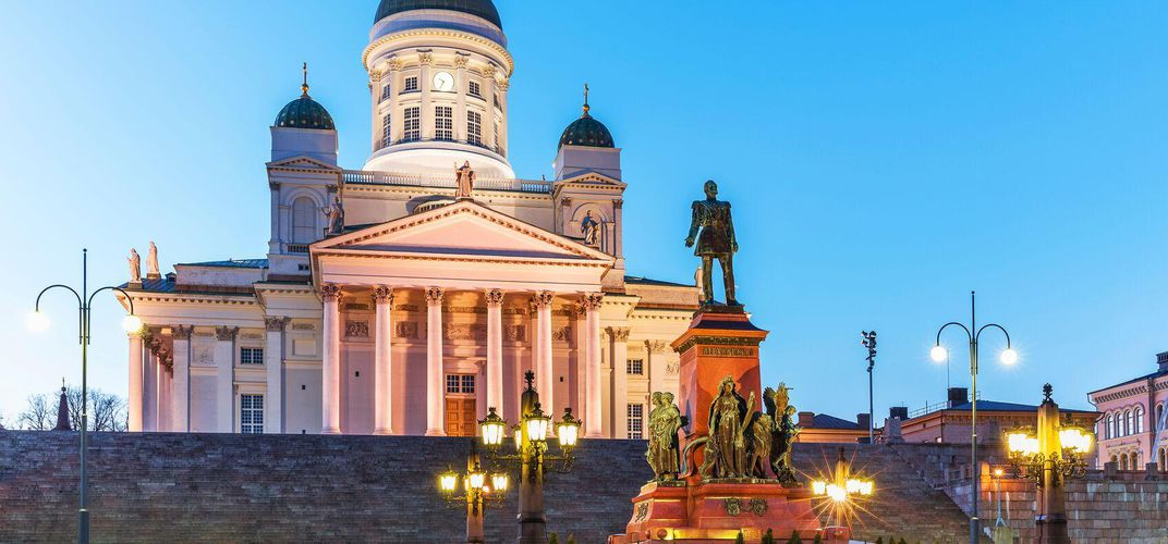 Finland's Helsinki Cathedral