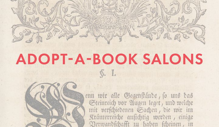 Calling All Bibliophiles to Adopt a Book