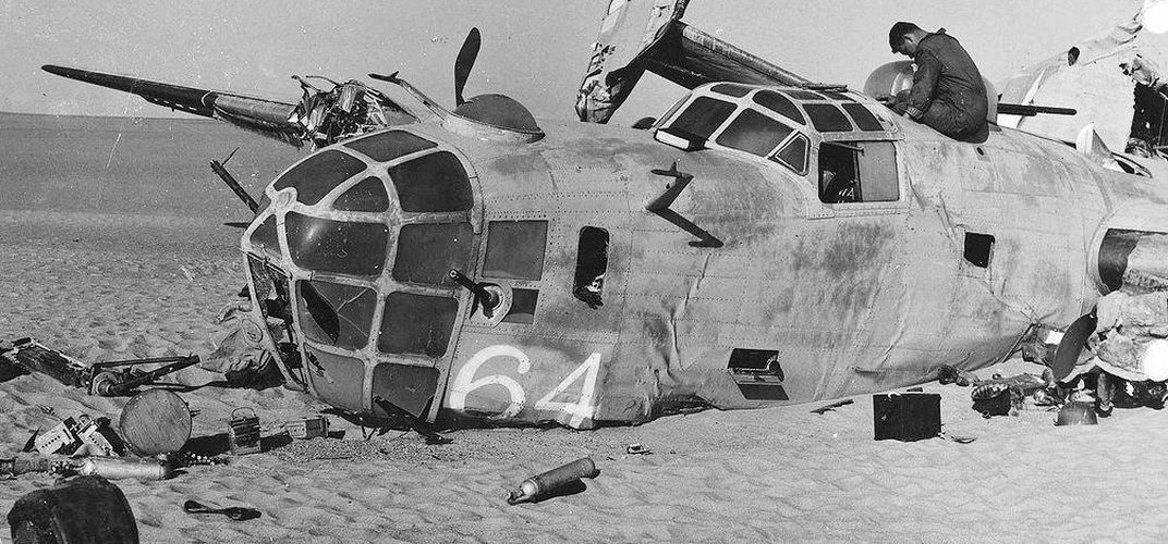 Caption: World War II's Most Famous Ghost Plane