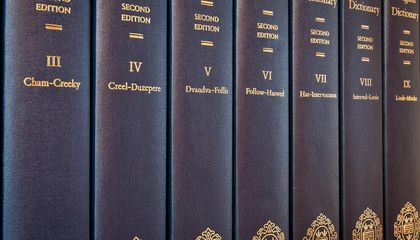 Here's How the Oxford English Dictionary Chooses New Words