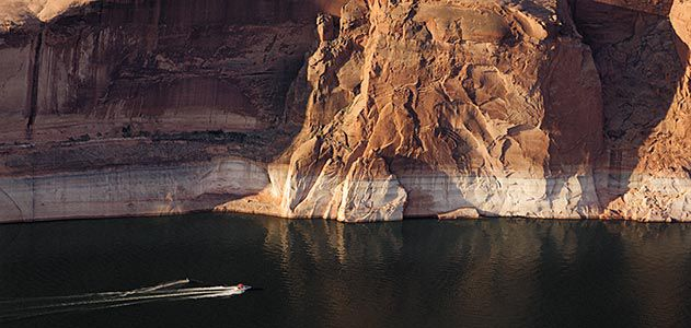 Colorado River reservoirs