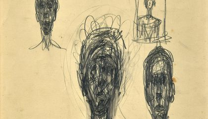 Two 'Lost' Alberto Giacometti Drawings Found in Antique Dealer's Collection