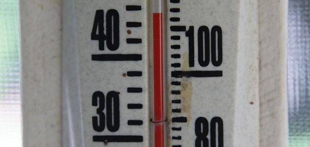High temperatures and high levels of humidity reduce the human body's ability to do work.