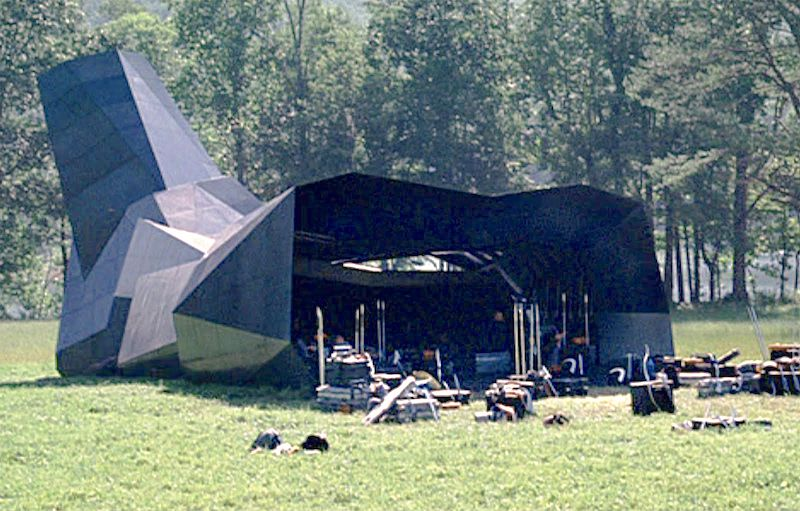 The Cornucopia used during the 74th Hunger Games. Still from The Hunger Games.
