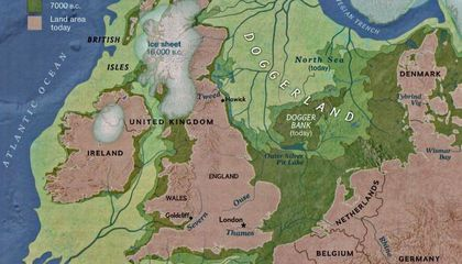 Study Rewrites History of Ancient Land Bridge Between Britain and Europe