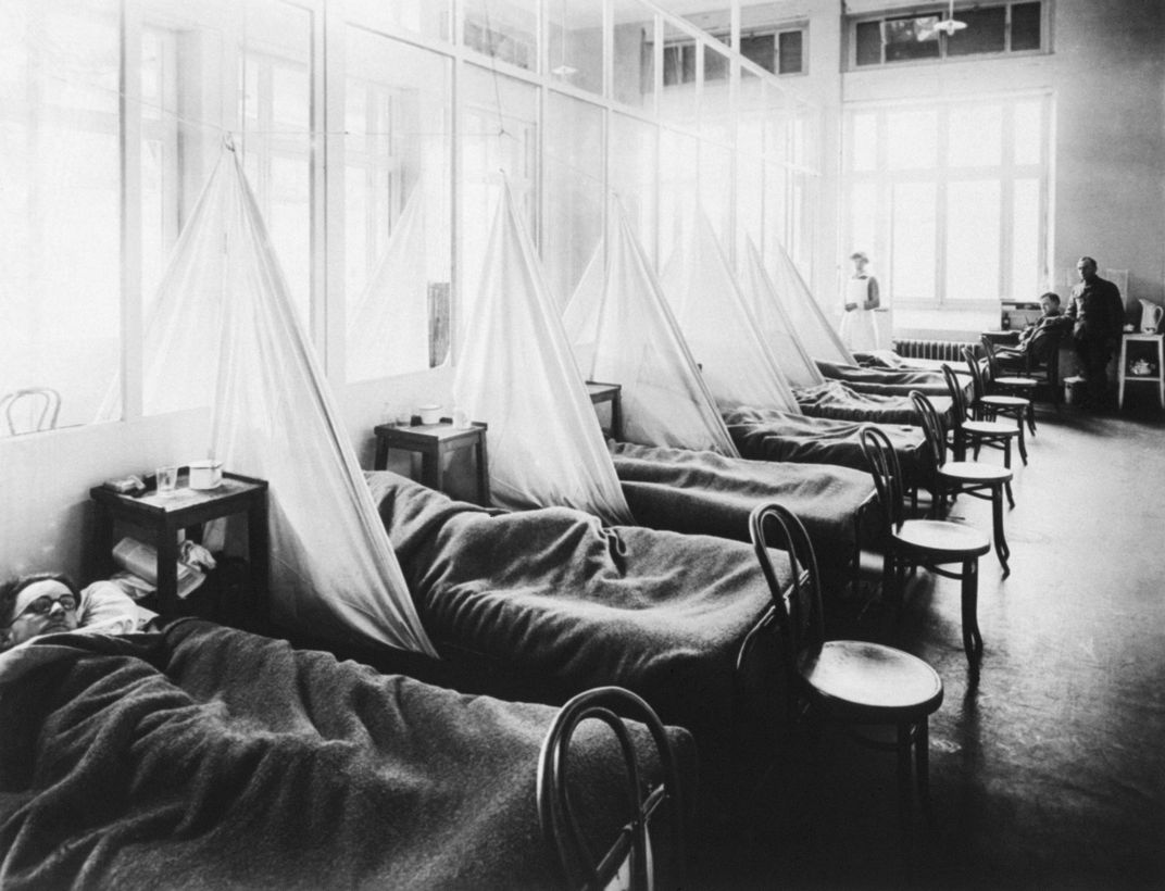 Patients at U.S. Army ward