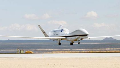 NASA Drones to Study Stratosphere for Climate Change Clues
