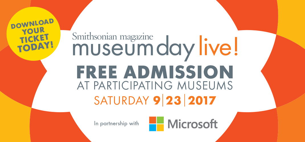 Caption: Museum Day Live!