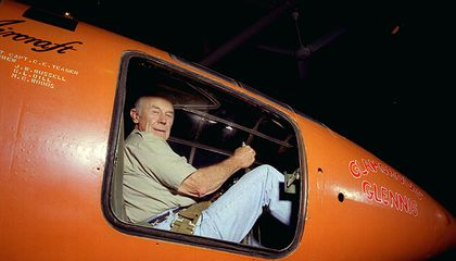 Chuck Yeager's Wild Week on Twitter