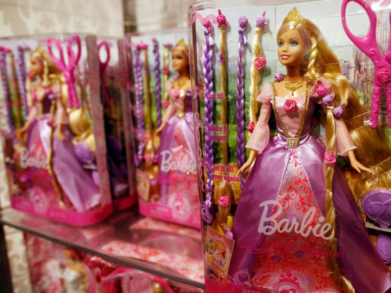 Mattel naming barbie