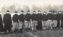 Carlisle Indian School football squad