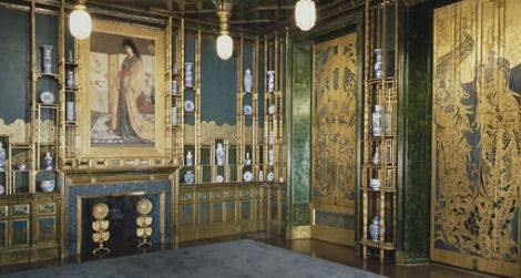 Visit the Peacock Room, restored to its 1908 condition