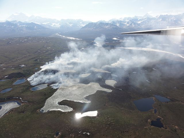 Wildfires burning in Alaska