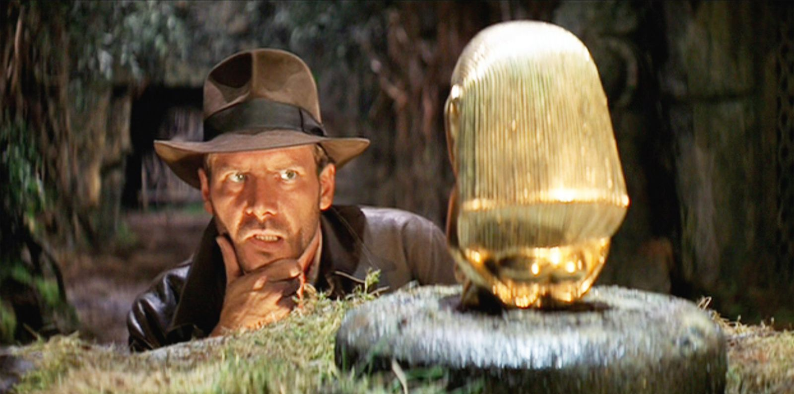 """""""That belongs in a museum!"""" Indiana Jones shouts at the man in the Panama hat, instantly creating the most memorable archaeological catch"""
