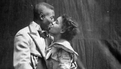Found: The Earliest Cinematic Depiction of a Black Couple Kissing