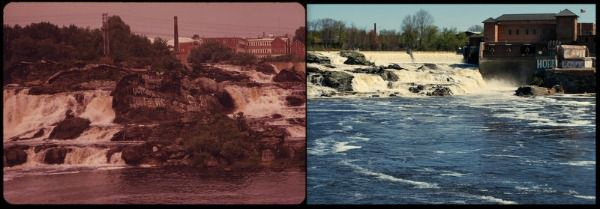 Great Falls of Maine's Androscoggin River