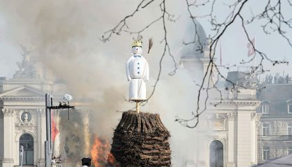 In Switzerland, an Exploding Snowman Helps Predict Spring
