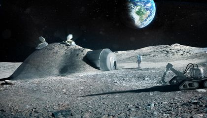 Astronauts Could Use Their Own Pee to Build a Moon Base