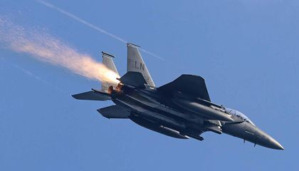 How an F-15 Pilot's Life Was Saved by a Photographer