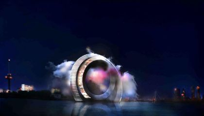 This Dutch Wind Wheel Is Part Green Tech Showcase, Part Architectural Attraction