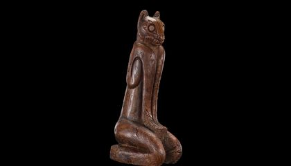 This Hand-Carved Panther Statuette Embodies a Lost Civilization's Harmony With Nature