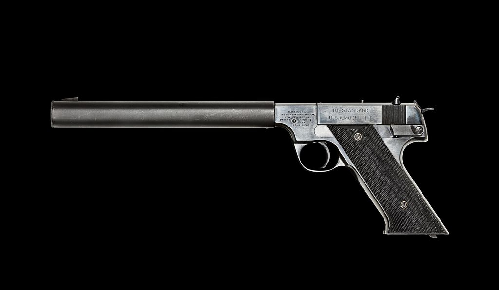 The Hi-Standard .22 was said to be so quiet that President Franklin D. Roosevelt didn't hear it when it was fired in the Oval Office.