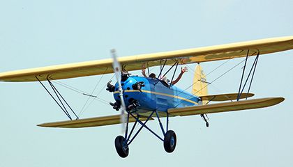 The plane that taught Anne Morrow Lindbergh to fly is flying again.