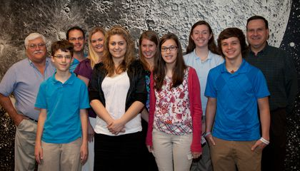 Young Visitors Inspire Old Scientist