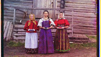 Color Photographs of Imperial Russia Reveal a World Lost to History