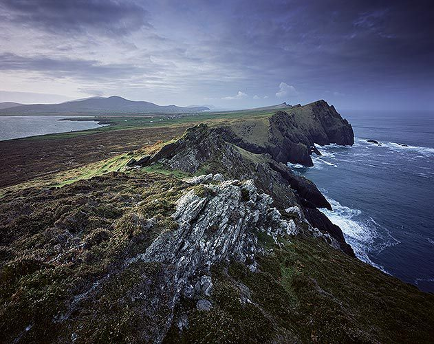County Kerry Ireland rocky cliffs