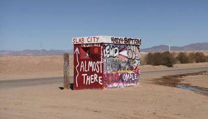 Inside Slab City, a Squatters' Paradise in Southern California