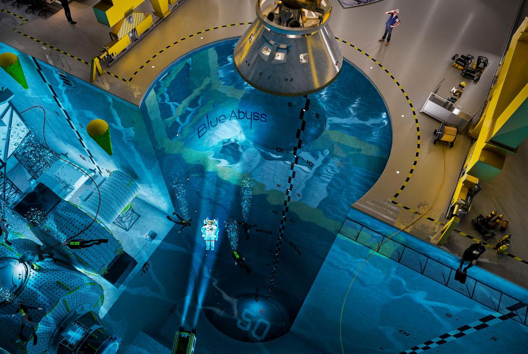 a swimming pool for spacefarers space air space magazine