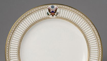 Did You Know That the Designs On Some White House China Are Patented?
