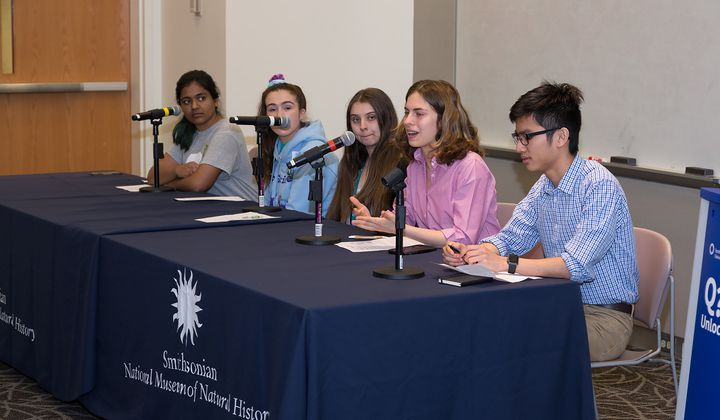 Previous Teen Earth Optimism events have engaged kids in the conversation around environmental challenges.