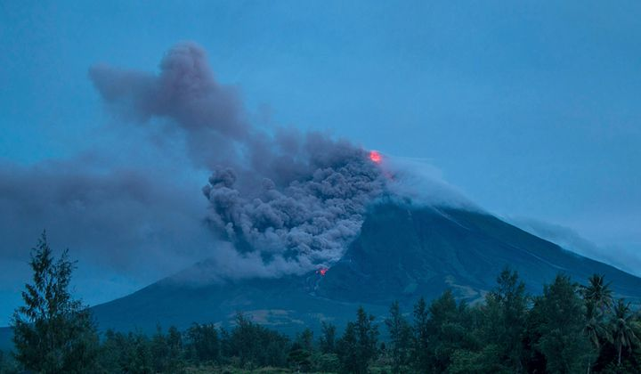 The Geology of the Roiling Mayon Volcano