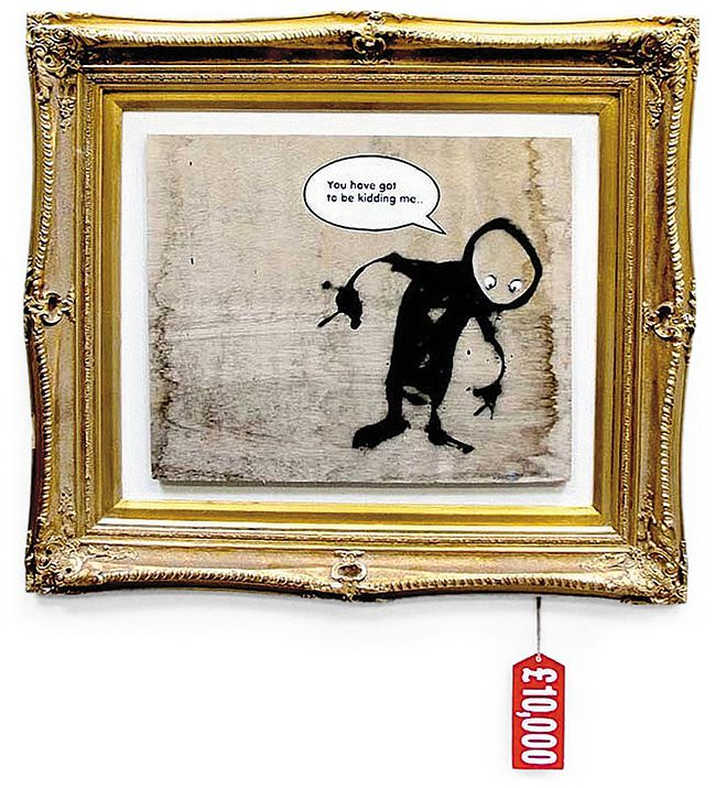 The Story Behind Banksy Arts Culture Smithsonian