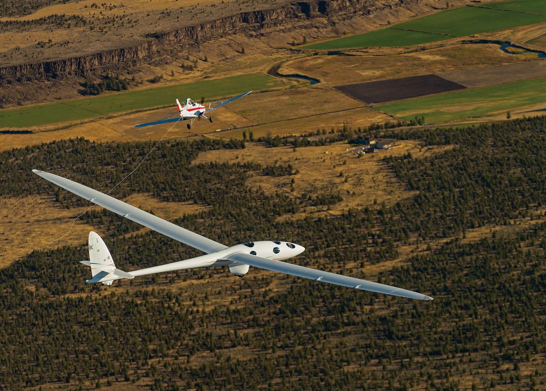 Sailplane to the Stratosphere   Flight Today   Air & Space Magazine